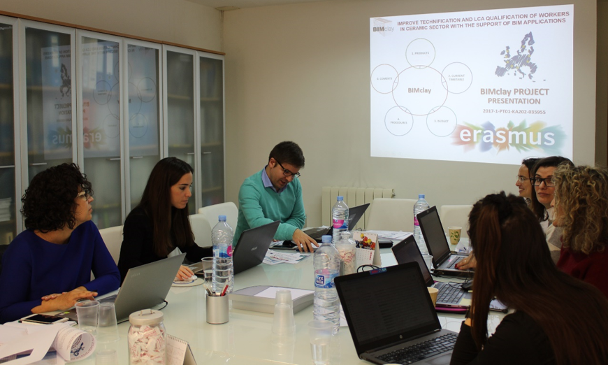 THIRD MEETING OF BIMclay PROJECT